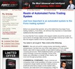 Wallstreet Forex Robot Clickbank Affiliate Website